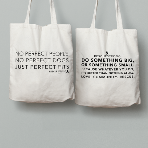 Perfect Fit / RS Mantra - 2 Tote Pack | Rescue Strong