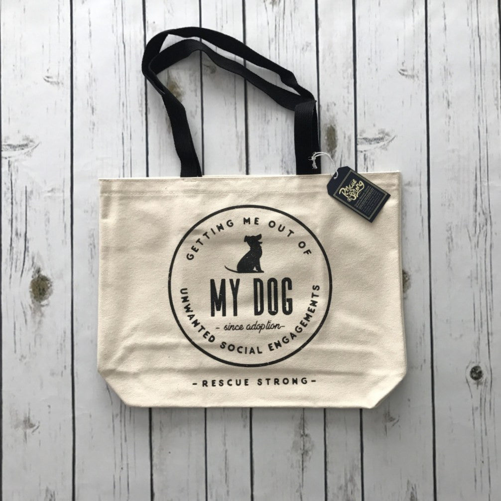 Unwanted Social Engagements Tote | Rescue Strong