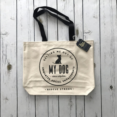 Unwanted Social Engagements Tote
