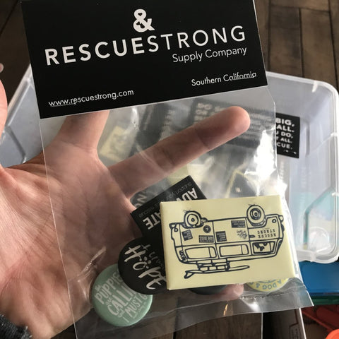 Rescue Strong Button Pack