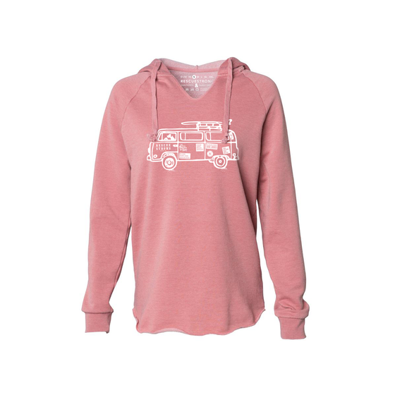 RS Road Trip Women's Wave Wash Hoodie | Rescue Strong