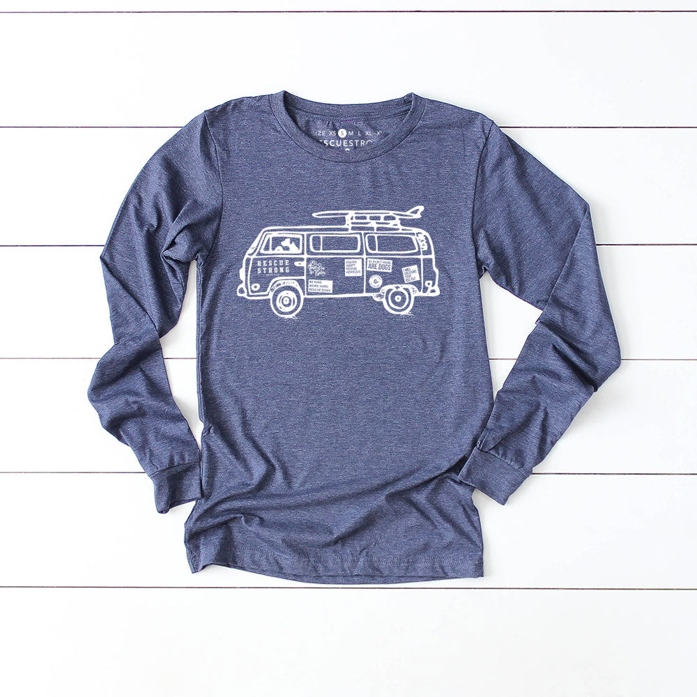 RS Road Unisex Trip Unisex Long Sleeve Tee | Rescue Strong