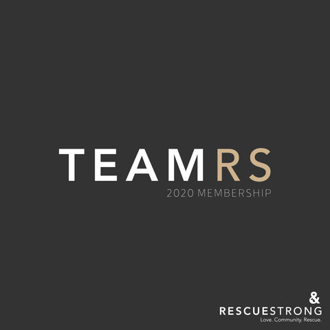Team RS Membership 2020 | Rescue Strong