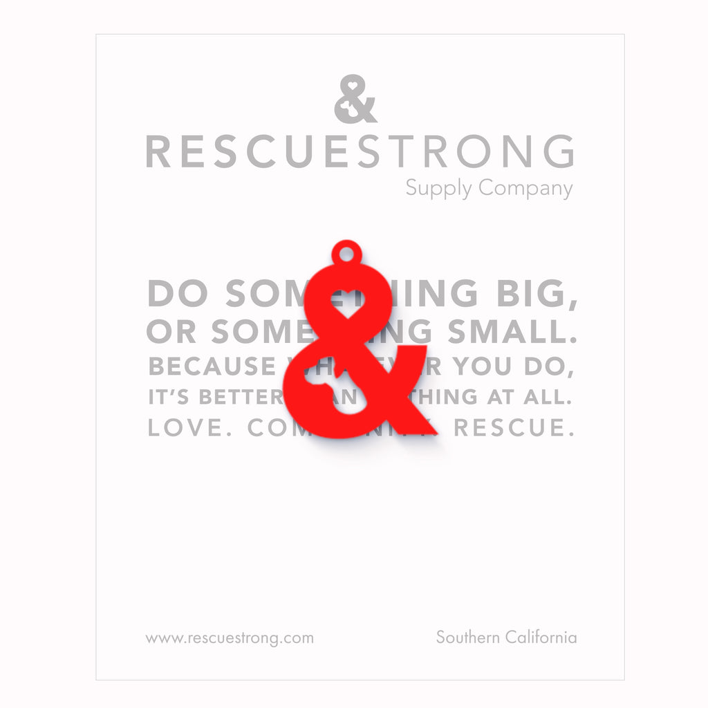 Random Act of Rescue Love and Rescue Charm | Rescue Strong