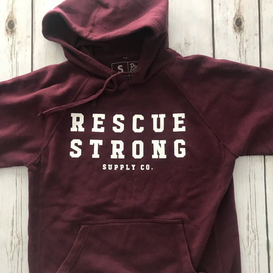 Rescue Strong Mantra Hoodie | Rescue Strong