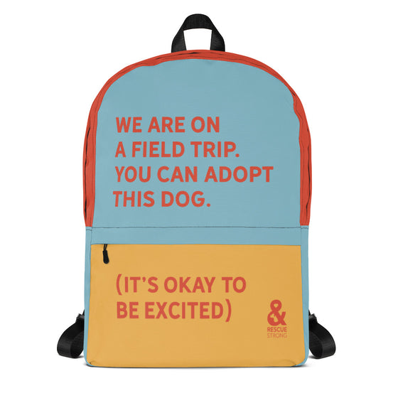 Bold Field Trip Backpack (Multi-Color) | Rescue Strong