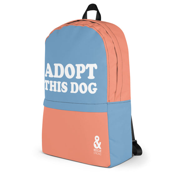 Adopt This Dog Backpack | Rescue Strong