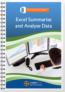 Excel Summarise and Analyse Data