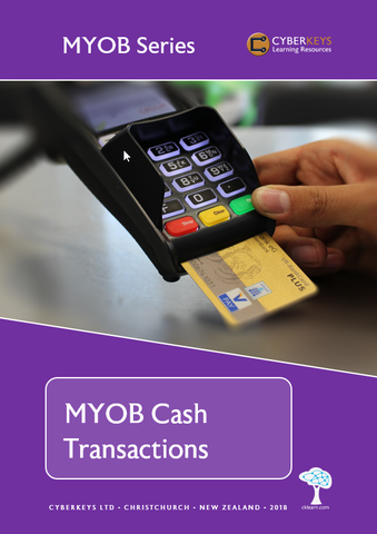 MYOB Cash Transactions