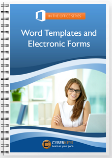 Word Templates and Electronic Forms