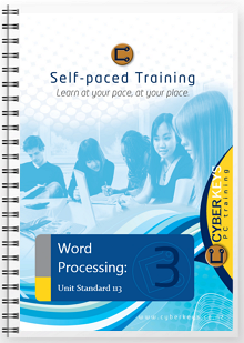 Word Processing: Unit Standard 113