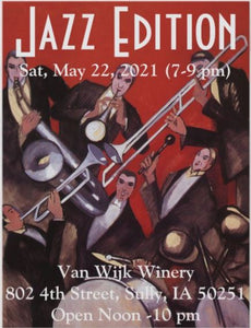 No Cover Charge: 05/22/21 Live Music featuring Jazz Edition