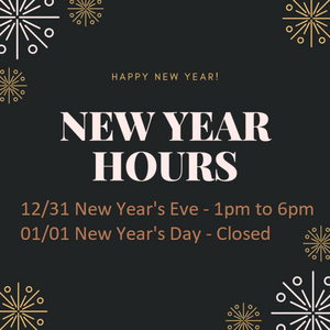 Hours:  Dec 31 - Jan 1