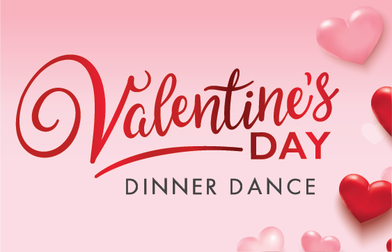 SOLD OUT - 2/14/20 Ticketed Event: Valentine's Dinner & Dance