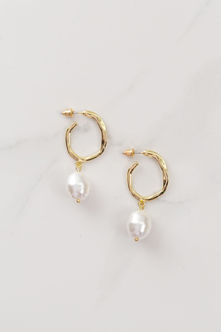 Dali Hoops - Pearl/Gold