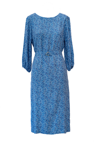 Eve Shift Dress - Porcelain Blue