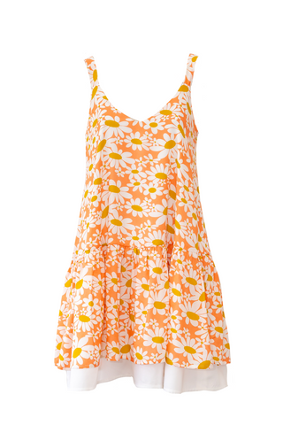 Santa Barbara Mini Dress - Flower Power