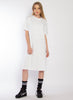 That Tee Dress Emblem - White