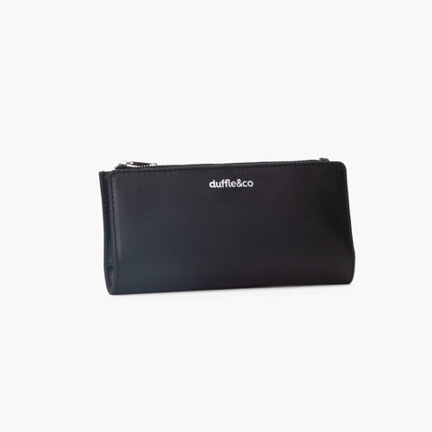 Olivia Leather Wallet - Black