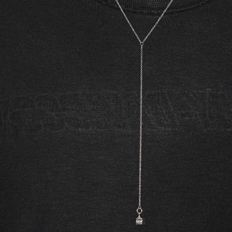 Lumiére Lariat Necklace - Sterling Silver