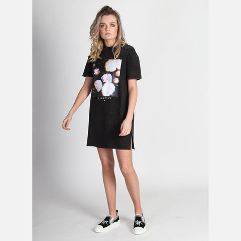 That Tee Mini Dress - Peony