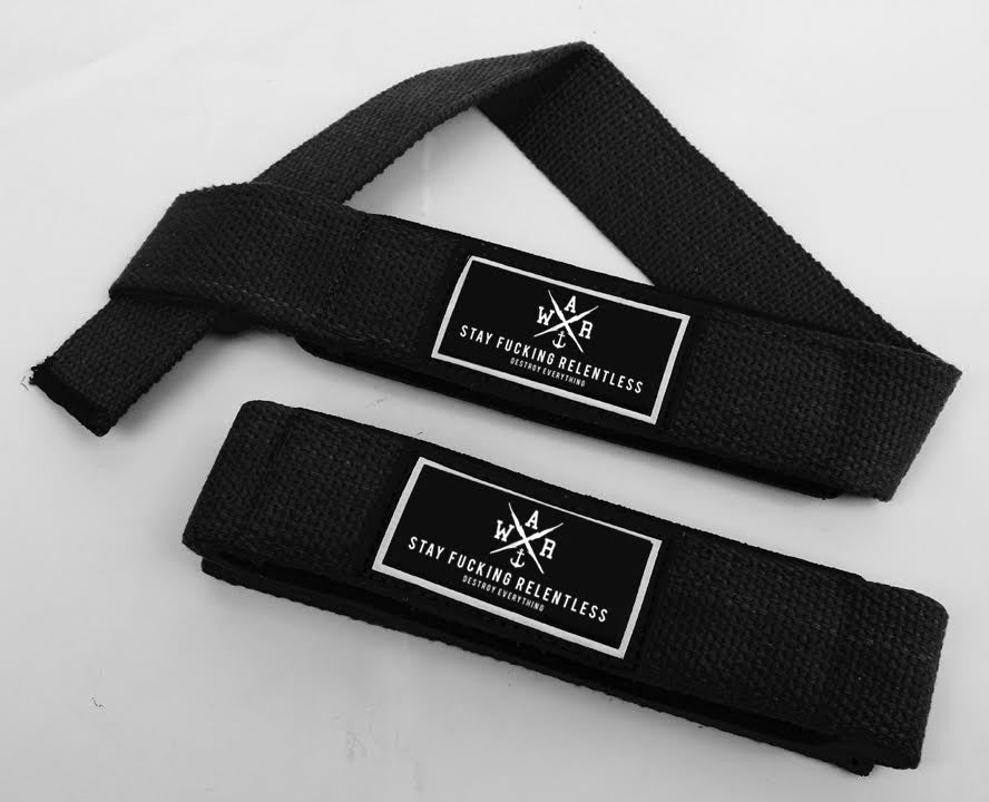 W.A.R. Lifting Straps - LIMITED EDITION
