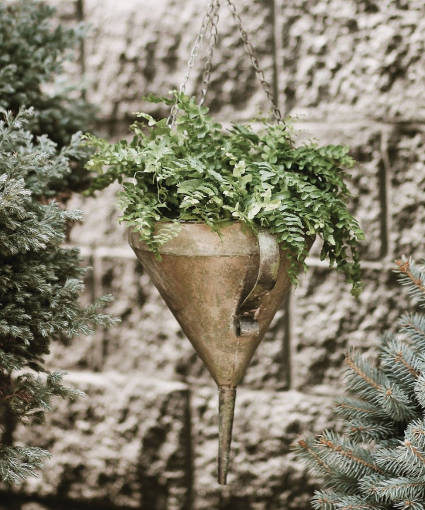 Hanging Funnel Planter