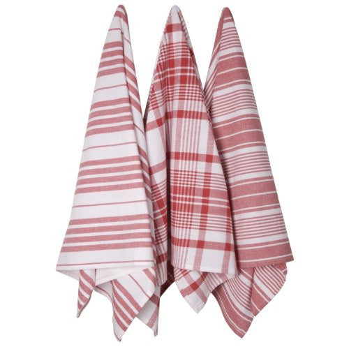 Oversized Red Tea Towels
