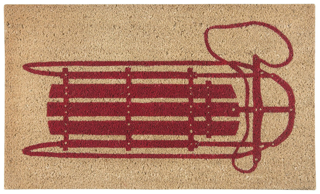 Wood Sled Doormat