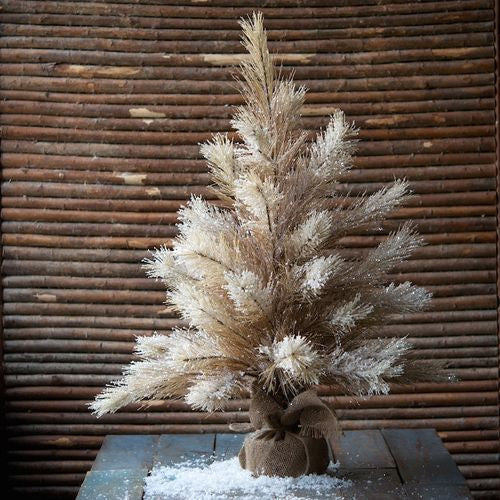 Brown Glittered Pine