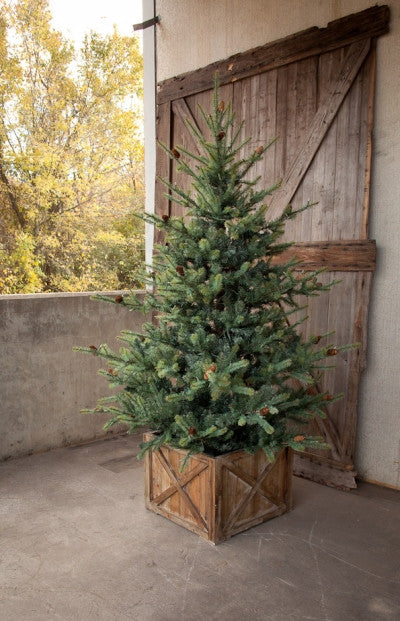 Faux Blue Spruce Christmas Tree