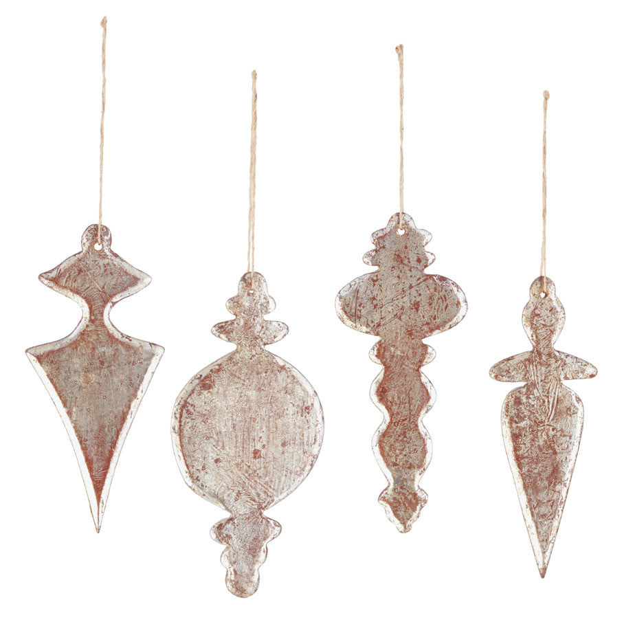 Gilded Chandelier Ornaments