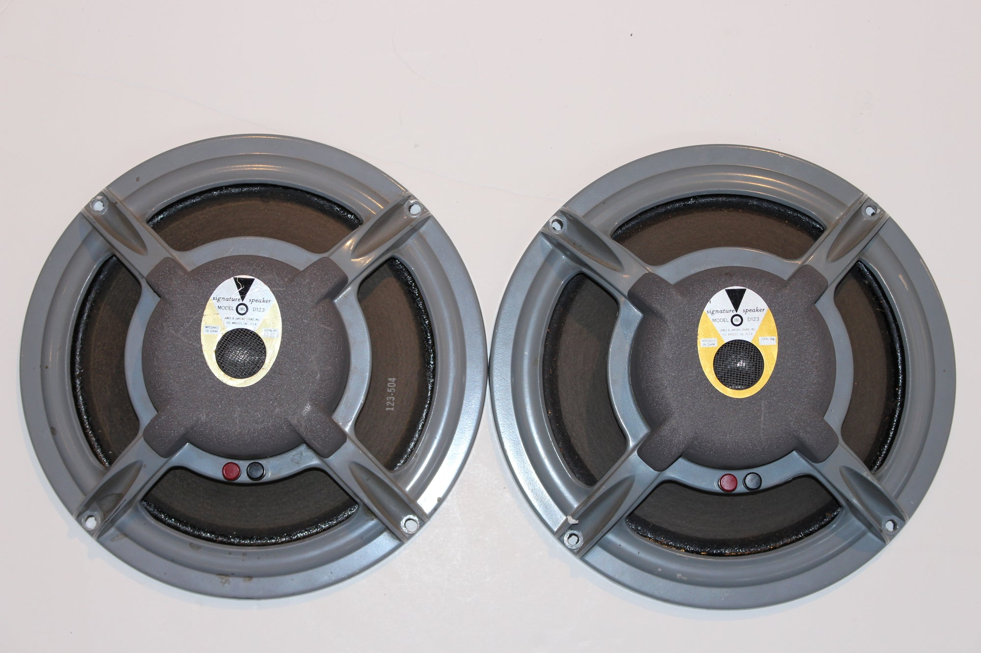JBL D123 Speaker Pair - Vintage Guitars