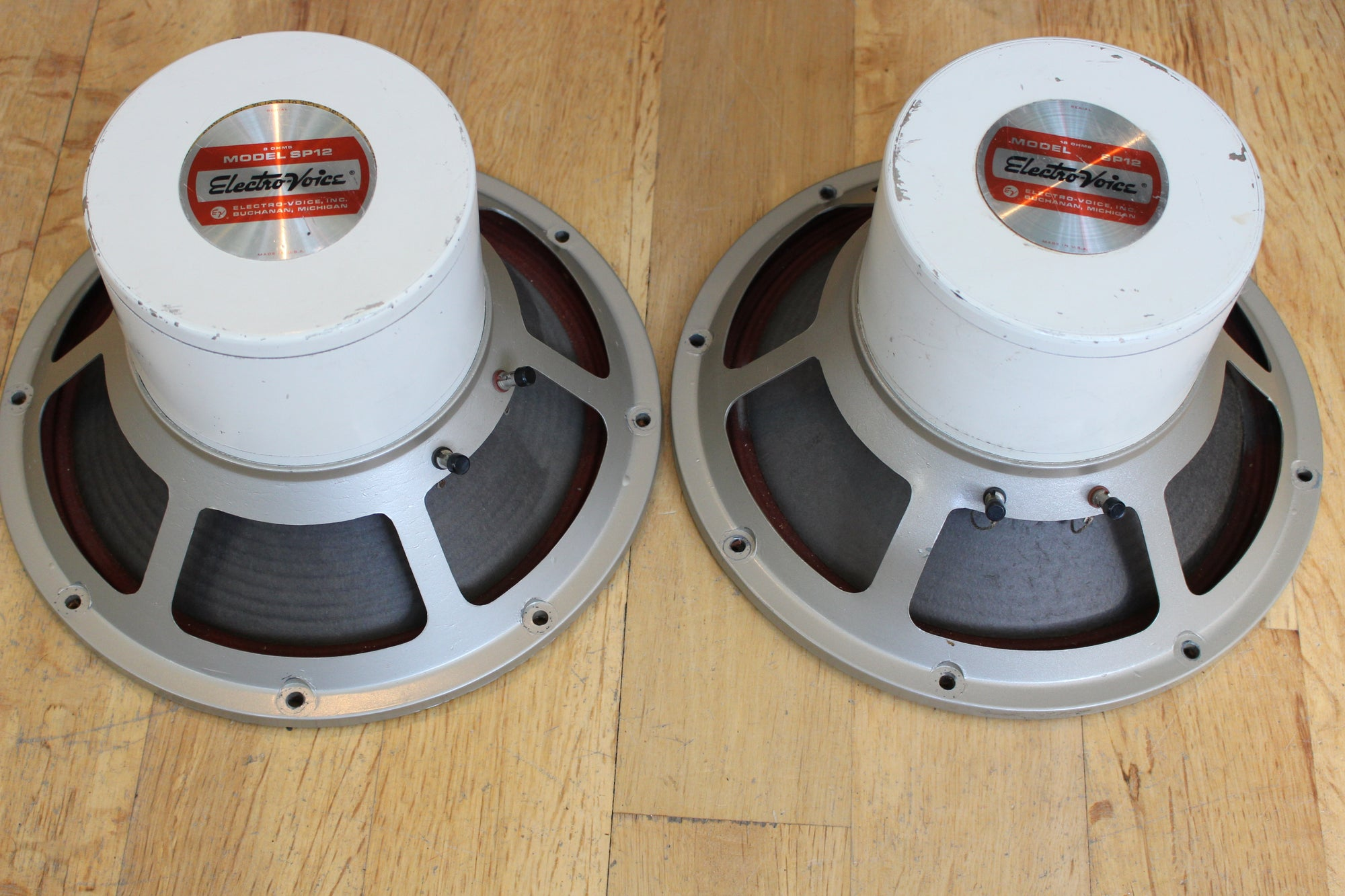 "Electro Voice SP12 speaker pair 12"" - Vintage Guitars"