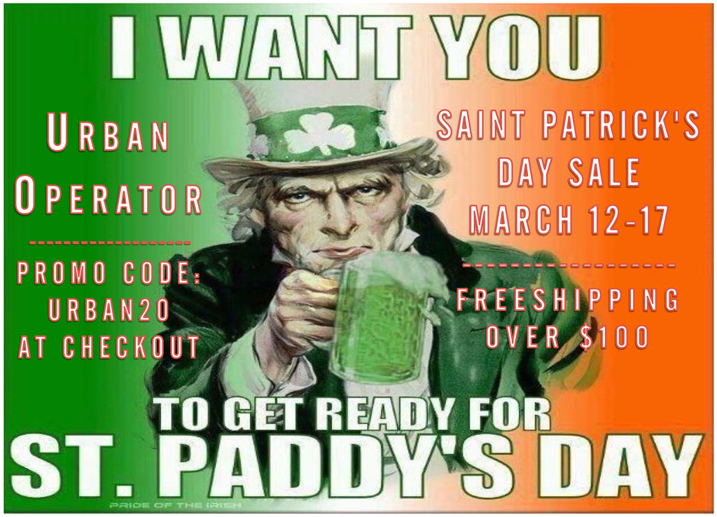 SAINT PATRICK'S DAY SALE!