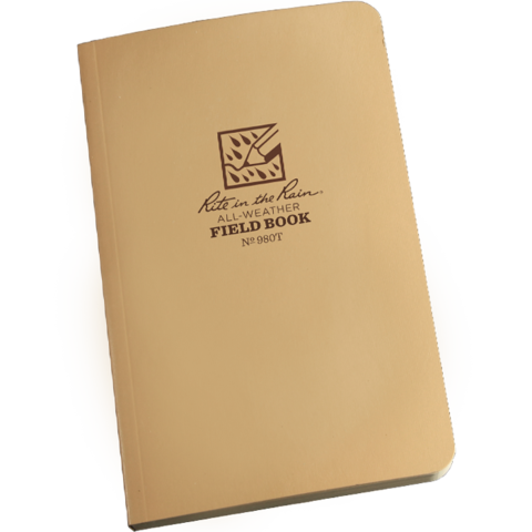 RITE IN THE RAIN (WEATHER TACTICAL NOTEBOOK TAN) - Tight360Tactical