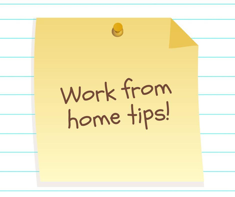 Tips to Work from Home Effectively! - TTB