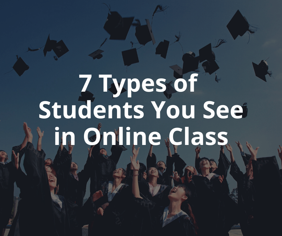 7 Types of Students You See in Online Classes! - TTB