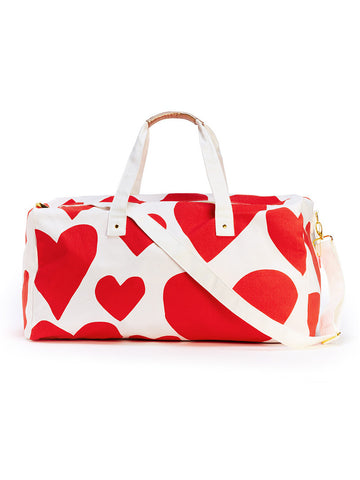 Ban.do Getaway Duffle Bag - Extreme Supercute Hearts