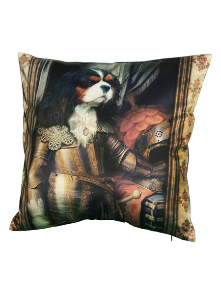 'Charles de King' Cushion