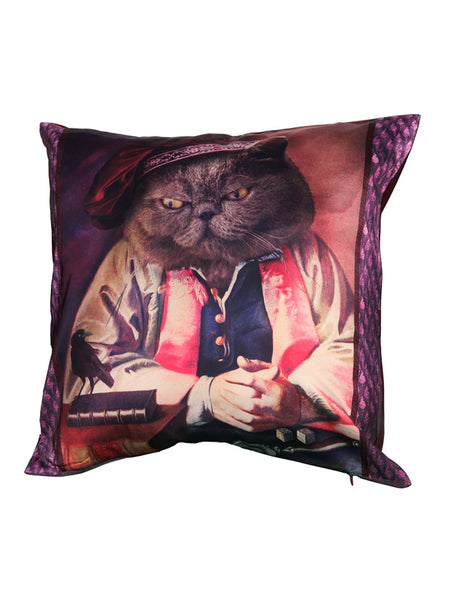 'Whysker Psychick' Cushion