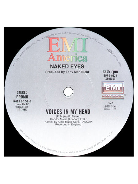 Naked Eyes ‎– Always Something There To Remind Me (Remixed Version) / Voices In My Head [1X VINYL]