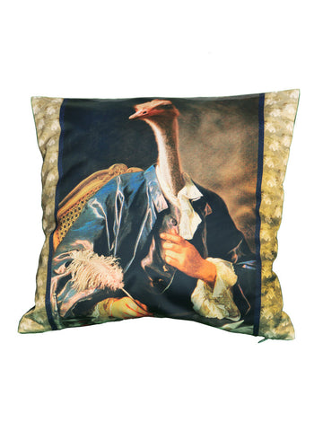 'Long Neck Poet' Cushion
