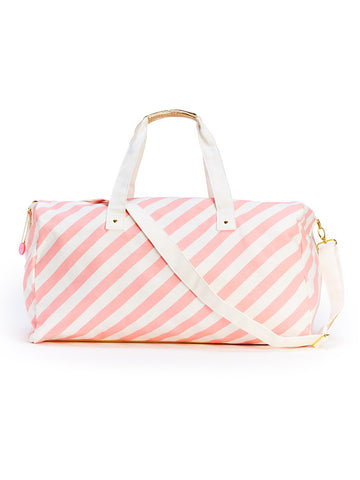 Ban.do Getaway Duffle Bag - Ticket Stripe