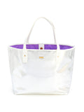 Ban.do The Everything Tote - Metallic Silver + White