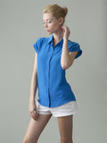 THE BETTIE SILK SHIRT - BETTIE'S BLUES