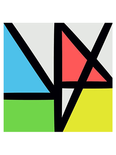 New Order - Music Complete (Clear Vinyl Limited Edition) (2015) [2X VINYL]