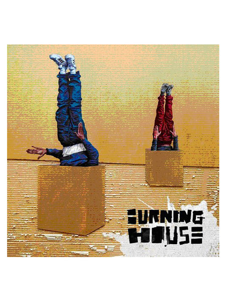 Burning House  - Walking into a burning house (2014) [1X VINYL]