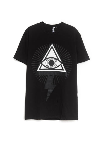 BYFF 'Eye' T-Shirt, BLACK/WHITE