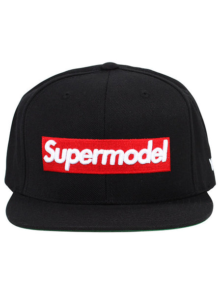 Alex and Chloe 'Supermodel' Snapback, BLK/RED